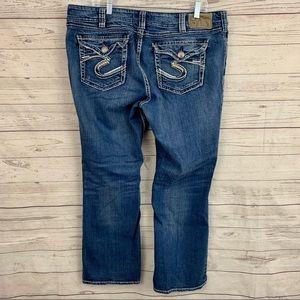 Silver Jeans suki surplus bootcut medium wash
